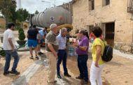 Diputación de Cuenca abastece de agua potable a varios pueblos de la provincia durante estos días de agosto