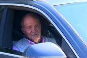 El rey Juan Carlos I abandona España
