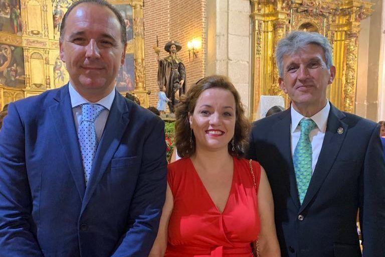 José Pablo Sabrido asiste a las fiestas patronales de El Casar de Escalona