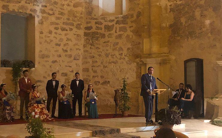 Benjamín Prieto progona las Fiestas Patronales de Villaescusa de Haro