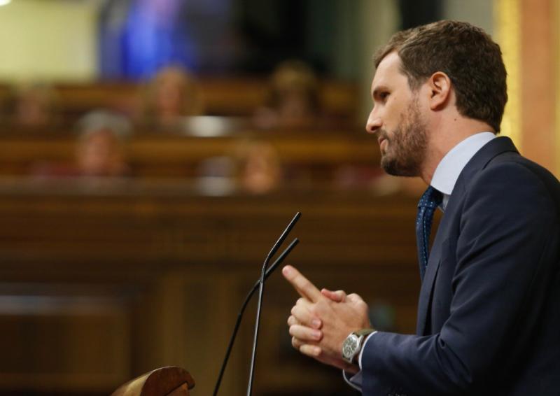 Casado espeta a Sánchez que España no merece nuevas elecciones pero tampoco un presidente como él