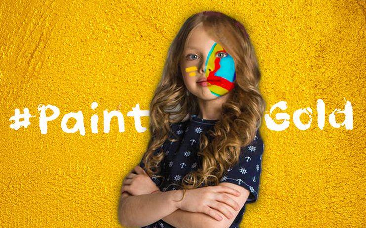 #PaintGold, una iniciativa a la que se suma AFANION para apoyar a los menores que padecen cáncer infantil