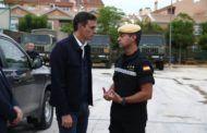 """Sánchez dice que el Gobierno """"no escatimará ningún tipo de recurso"""" para dar respuesta a los efectos del temporal"""