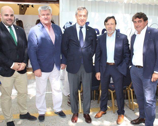 Eurocaja Rural asiste a la inauguración de la Caseta de FEDA con motivo de la Feria de Albacete
