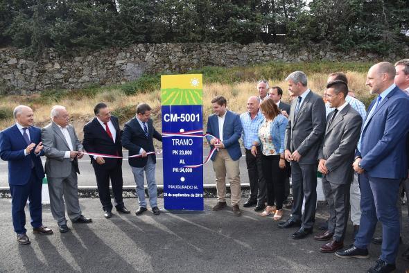 El Gobierno regional da un nuevo impulso a la mejora de las comunicaciones de la Sierra de San Vicente