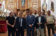 El retablo mayor de San Pedro Apóstol ya luce totalmente restaurado en la parroquia de Hontanaya