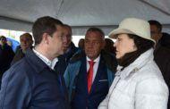 El presidente García-Page, acompañado de la ministra de Trabajo, visita este sábado las zonas del sureste de la provincia de Albacete afectadas por el temporal