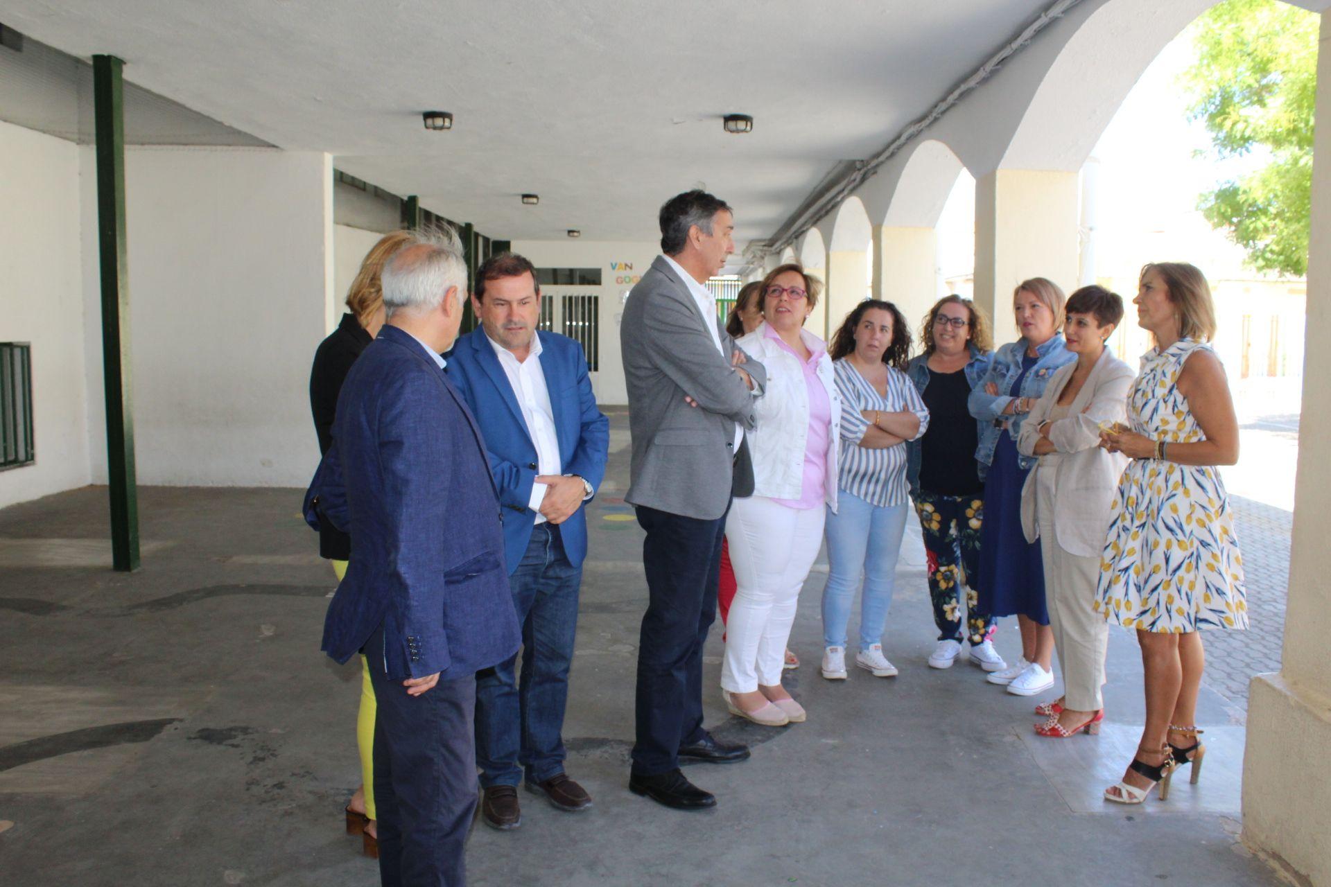 El Gobierno regional resalta el compromiso con la conciliación de las familias de Puertollano con la apertura de tres comedores escolares