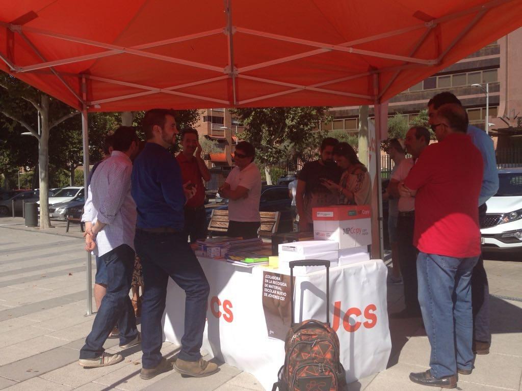 Jóvenes Ciudadanos (JCs) pone en marcha su segunda campaña de recogida de material escolar en más de medio centenar de puntos solidarios por España