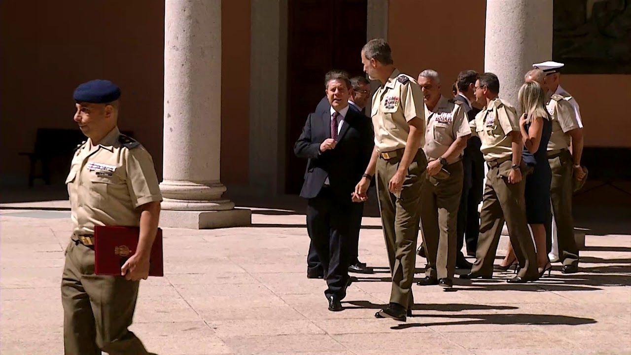Su Majestad el Rey visita el Instituto de Historia y Cultura Militar del ET. en su sede del Museo del Ejército