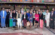 Rafael Martín asiste a las fiestas de Villafranca de los Caballeros mostrando al pueblo el reconocimiento del Gobierno de la Diputación