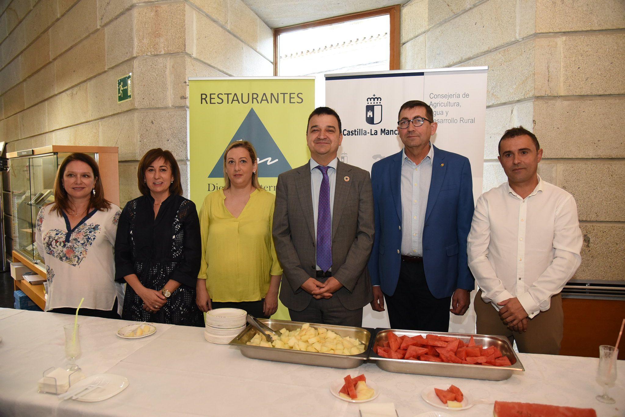 El Gobierno de Castilla-La Mancha fomenta los hábitos de consumo saludable de la Dieta Mediterránea apostando por los productos de cercanía