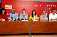 El secretario general de la Ejecutiva Provincial del PSOE en Albacete, Santiago Cabañero, llama a la movilización del electorado de izquierdas
