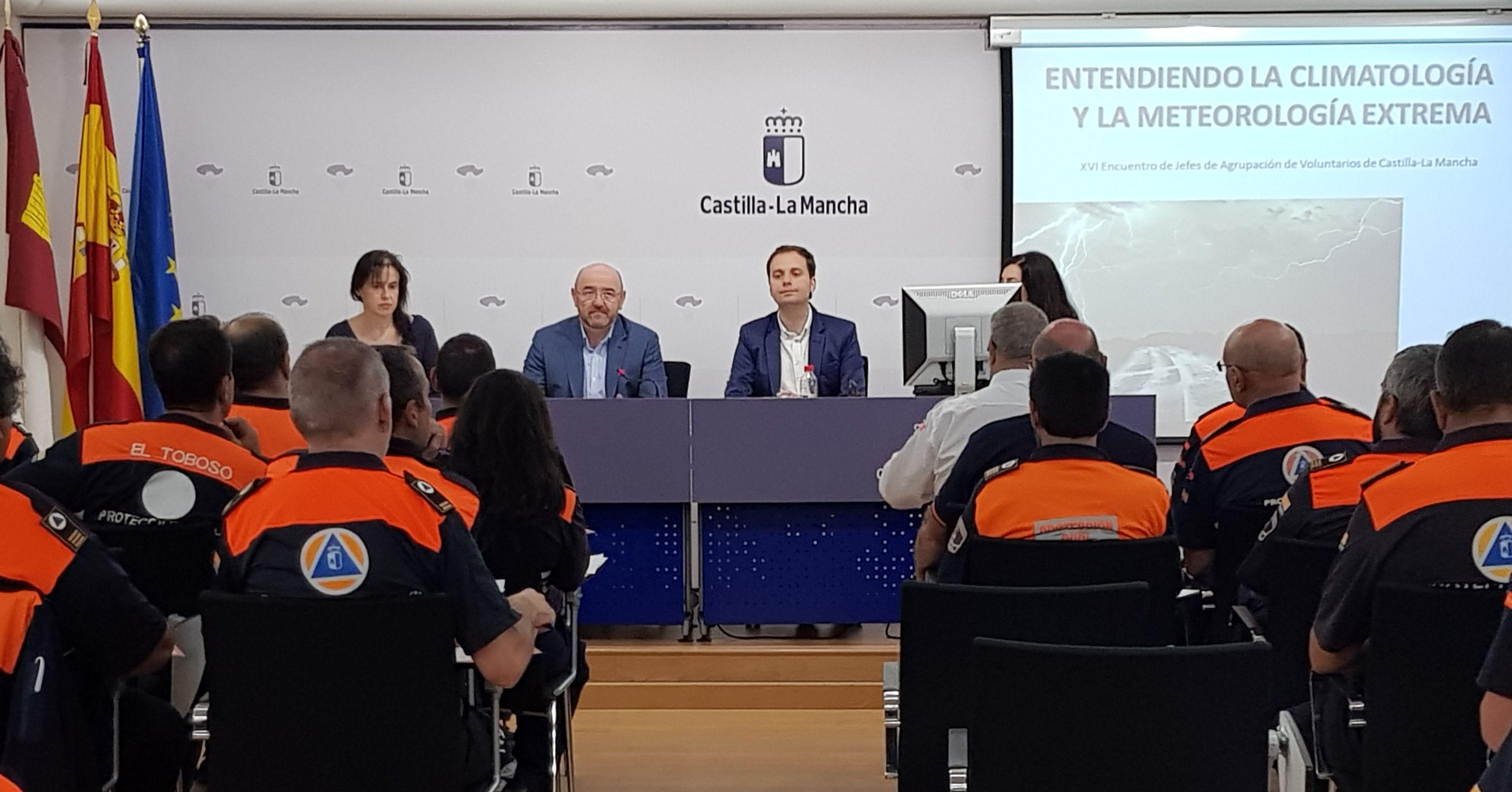 El Gobierno regional pone en valor el papel de los voluntarios de Protección Civil en el XVI Encuentro de jefes de agrupación
