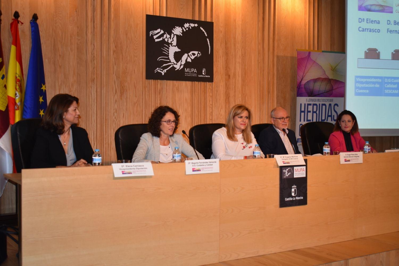 Un grupo de investigadores de la Gerencia de Atención Integrada de Cuenca realizará un estudio de prevalencia de heridas crónicas