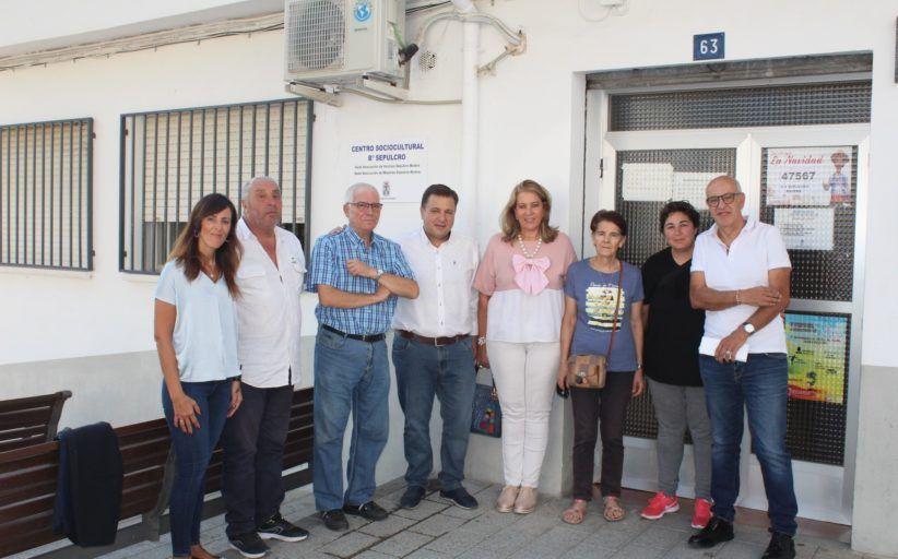 Serrano anuncia que el Grupo Popular pedirá la construcción de un nuevo centro socio-cultural para los vecinos del barrio Sepulcro-Bolera