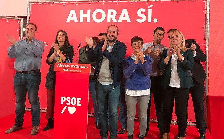 """Isabel Rodríguez: """"Puertollano reitera su apoyo mayoritario al Partido Socialista"""""""