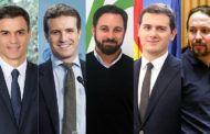 Sánchez gana las elecciones, Casado toma aire, Abascal vencedor indiscutible y Rivera casi desaparece
