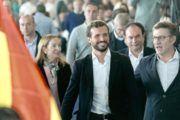 """Casado insta a Sánchez a """"asumir responsabilidades por el mayor caso de corrupción"""" de España"""