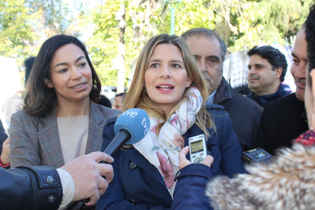 Agudo apela a la unidad de voto en torno al PP para que el único que se vaya al paro el próximo domingo sea Pedro Sánchez