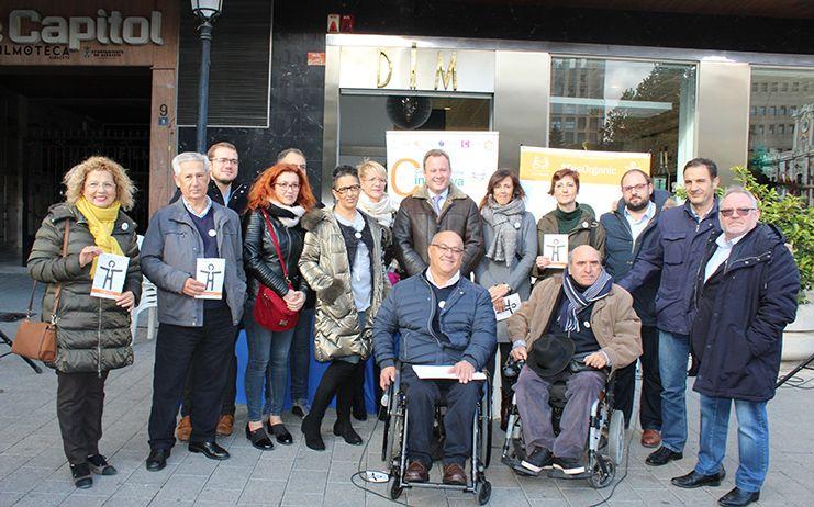 Vicente Casañ asiste a la presentación del Símbolo Internacional de la Discapacidad Orgánica