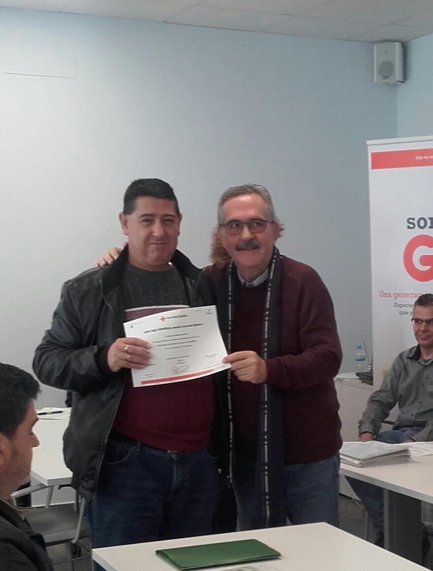 Clausura de las acciones formativas del segundo semestre de Cruz Roja en Valdepeñas