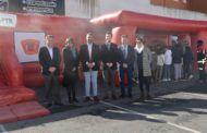 Martín comparte las actividades de la semana de la prevención con los escolares de Fuensalida