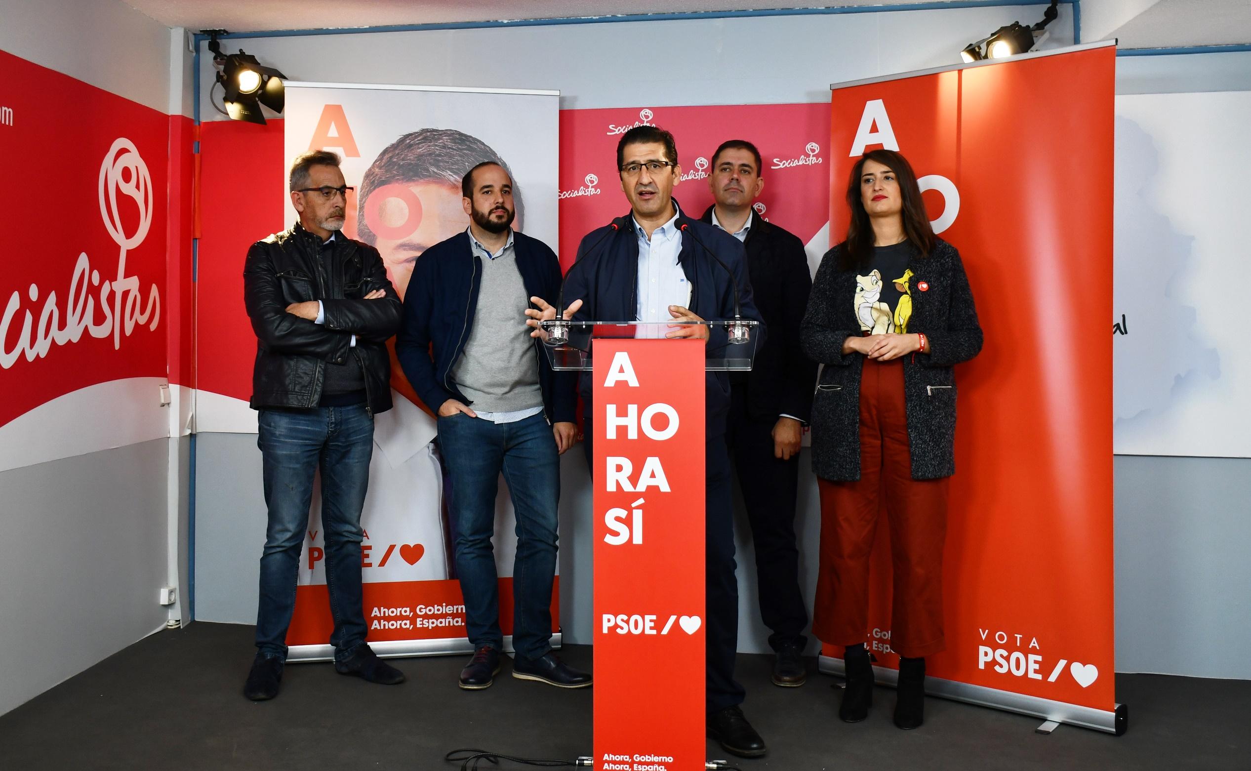 """El PSOE solicita a los 125.000 ciudadrealeños que en mayo optaron por García-Page y por alcaldes socialistas """"que den su confianza a Pedro Sánchez"""""""