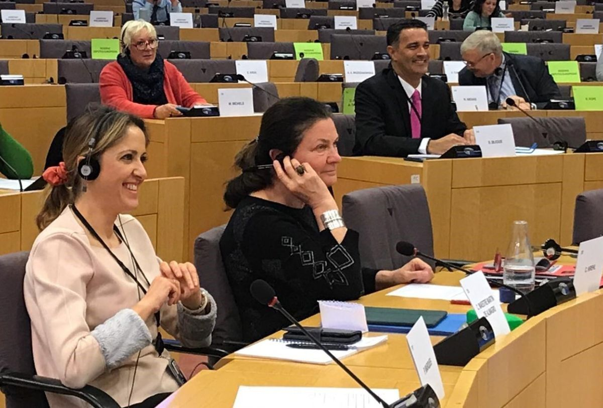 Cristina Maestre reclama a la Comisión Europea un plan estratégico contra el despoblamiento