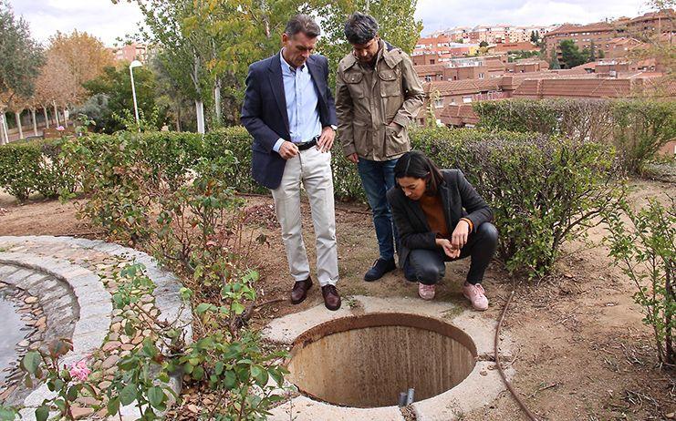 El PP denuncia el lamentable estado del Parque de Bélgica en Toledo