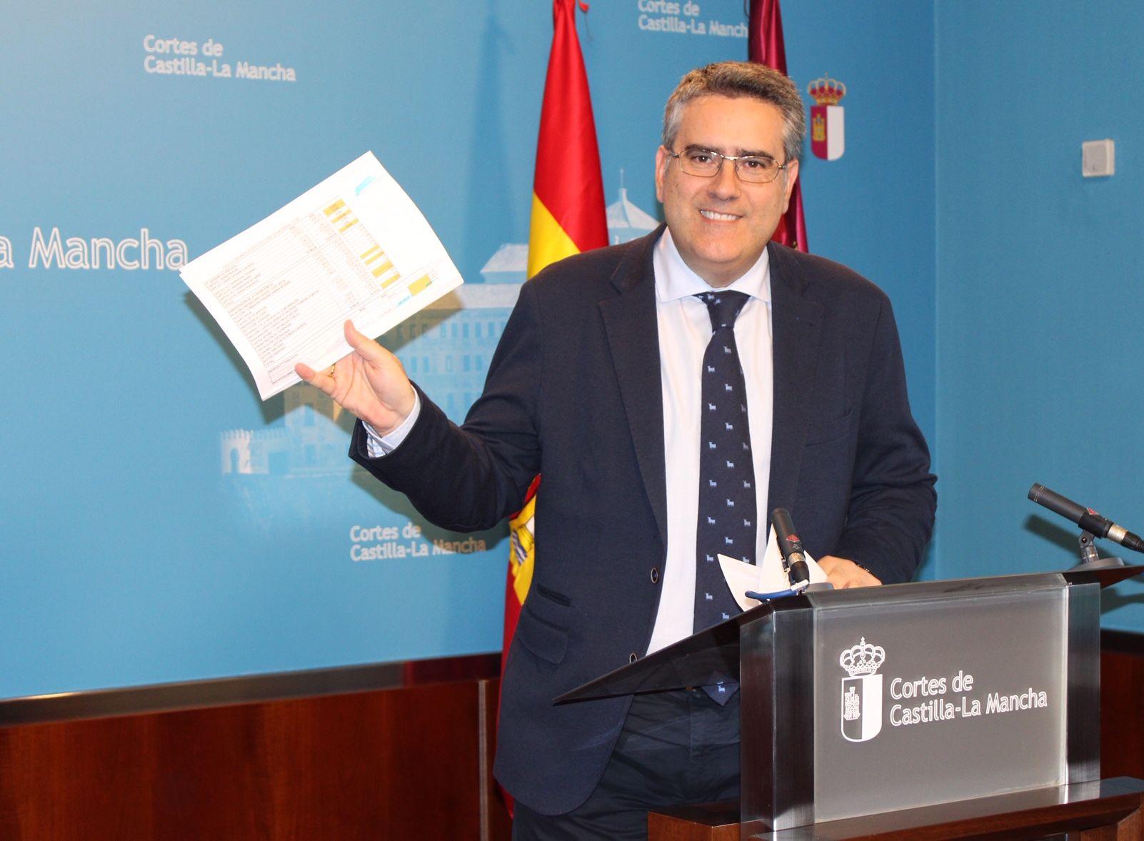 El presupuesto de Castilla-La Mancha y la voracidad fiscal de García-Page