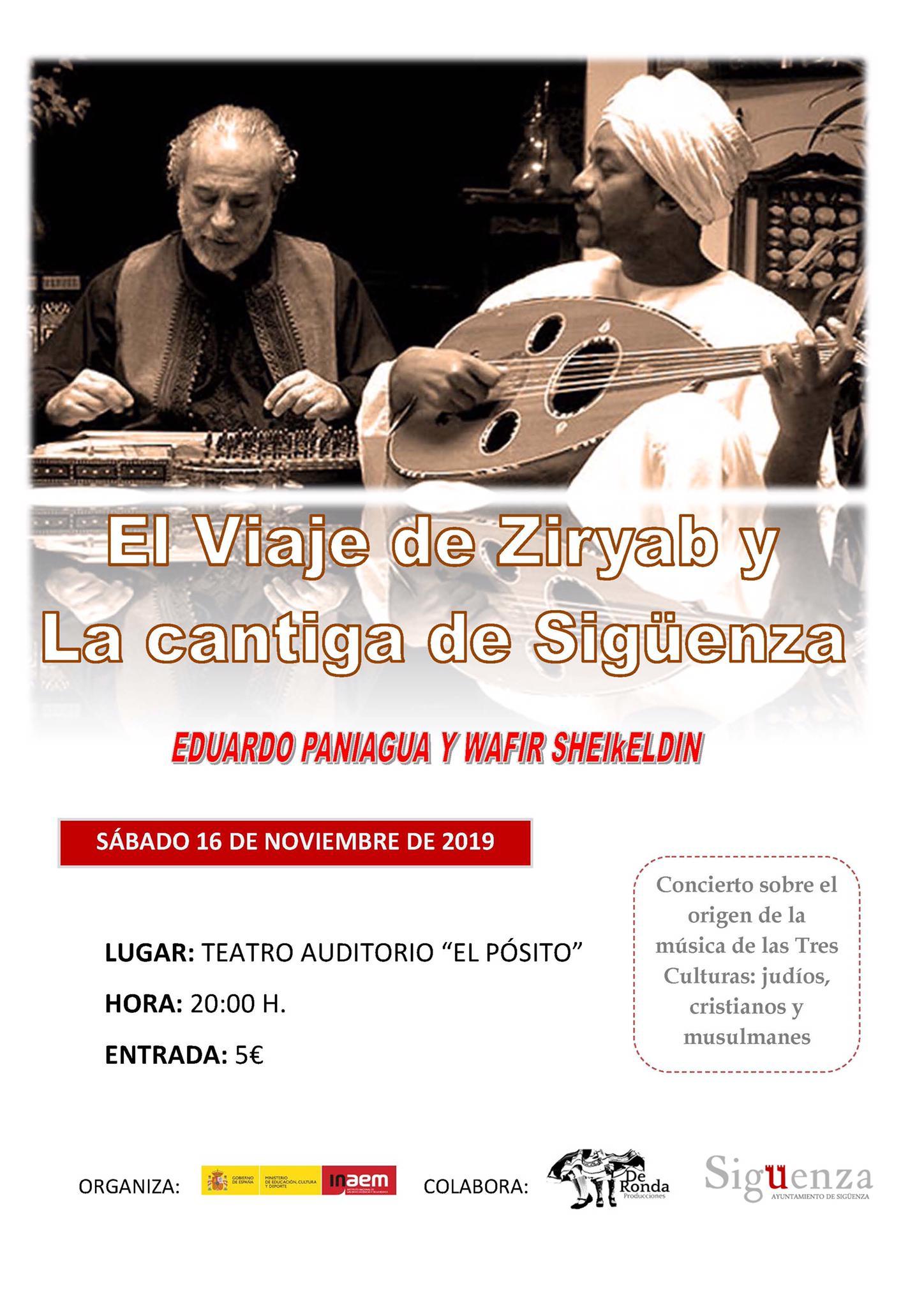"""El concierto """"El viaje de Zyriab"""" y """"La cantiga de Sigüenza"""" abren la V Semana de la Música"""