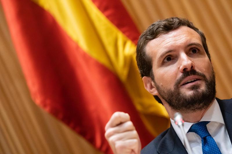Casado anuncia que el PP recurrirá el nombramiento de Delgado como fiscal general del Estado