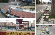 Vecinos azudenses de 'El Vidrio' denuncian abandono, suciedad y problemas de accesibilidad en el barrio