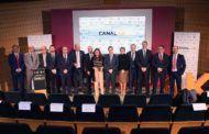 Tolón asiste a la presentación del Canal 4K de Castilla-La Mancha Media que ha iniciado sus emisiones en Toledo