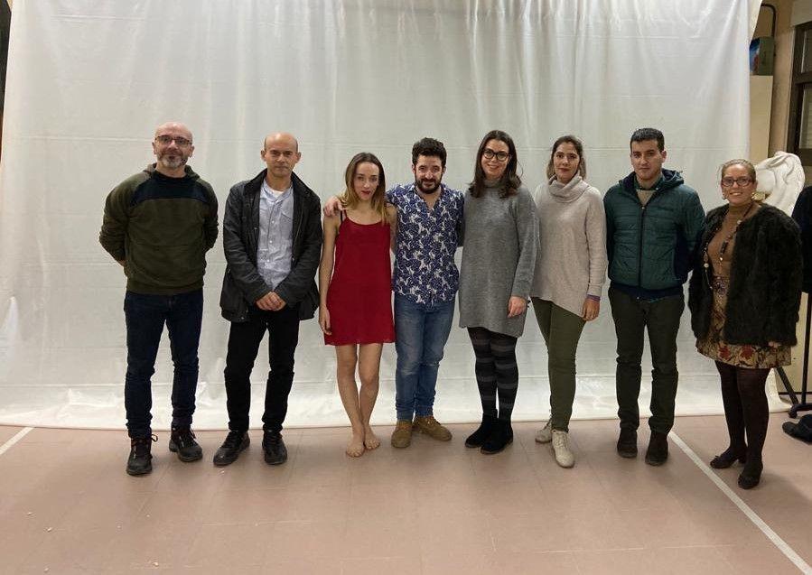 Cogolludo asiste a la representación de 'Don Juan Tenorio. La sombra de Inés ensangrentada' en el instituto de La Puebla de Montalbán