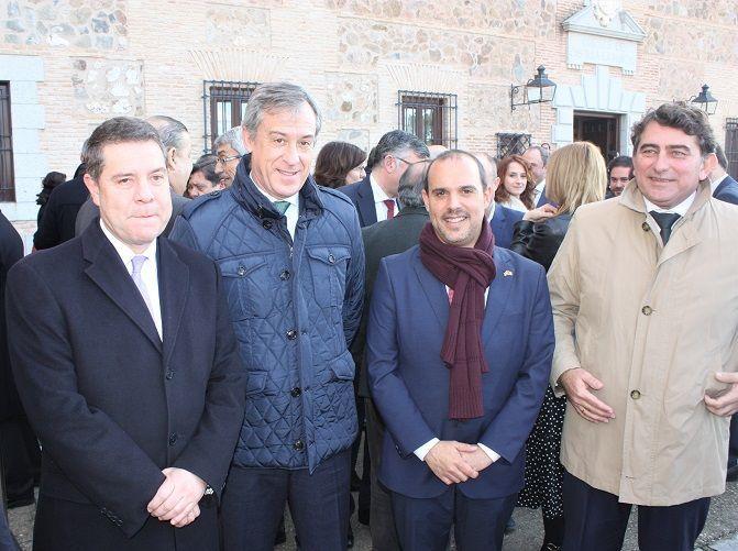 Eurocaja Rural asiste en Las Cortes de Castilla-La Mancha al acto conmemorativo del 41 Aniversario de la Constitución española