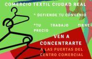 CCOO-Servicios llama a movilizarse a 12.000 trabajadoras y trabajadores del Comercio de Ciudad Real ante el bloqueo patronal de sus convenios colectivos