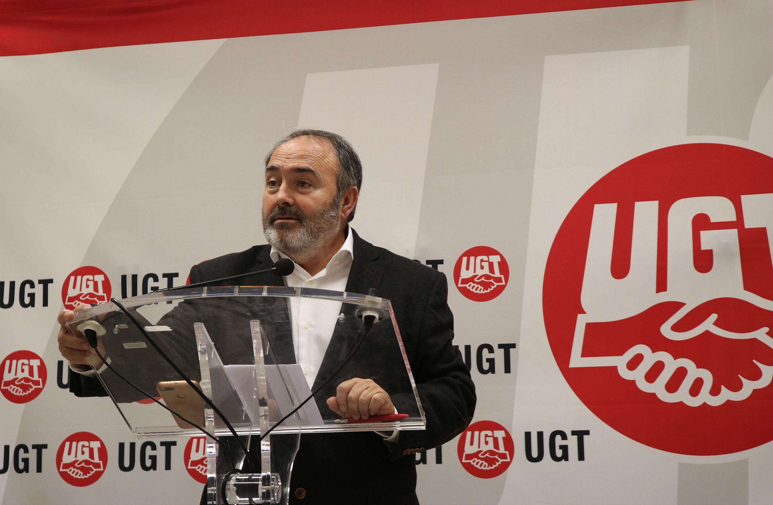 Pedrosa dimite de la secretaría general agradeciendo lo que UGT y sus trabajadores le han aportado en 17 años de mandato