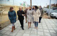 """Tolón visita la reforma integral ejecutada en los accesos del Polígono industrial que da respuesta a """"una demanda histórica"""""""