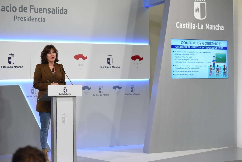 El Gobierno de Castilla-La Mancha mejora la oferta educativa con la creación jurídica de cuatro nuevos centros educativos
