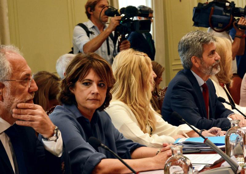 El CGPJ avala la designación de Dolores Delgado como fiscal general del Estado por 12 votos a favor y 7 en contra
