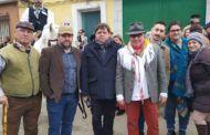 Félix Ortega acompaña al Grupo Municipal Socialista de Gálvez en las fiestas de San Antón