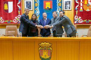El Gobierno de Castilla-La Mancha firma con el Ayuntamiento de Talavera un protocolo que pone a disposición de la ciudad un total de 2,6 millones de metros de suelo industrial