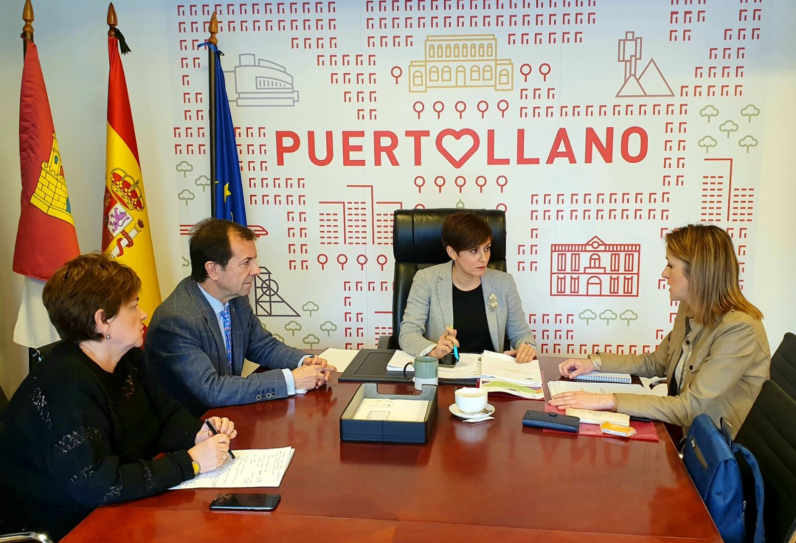 Maestre presenta en Puertollano el ambicioso Pacto Verde europeo, de 1 billón de euros, al que se podrán acoger España y Castilla-La Mancha
