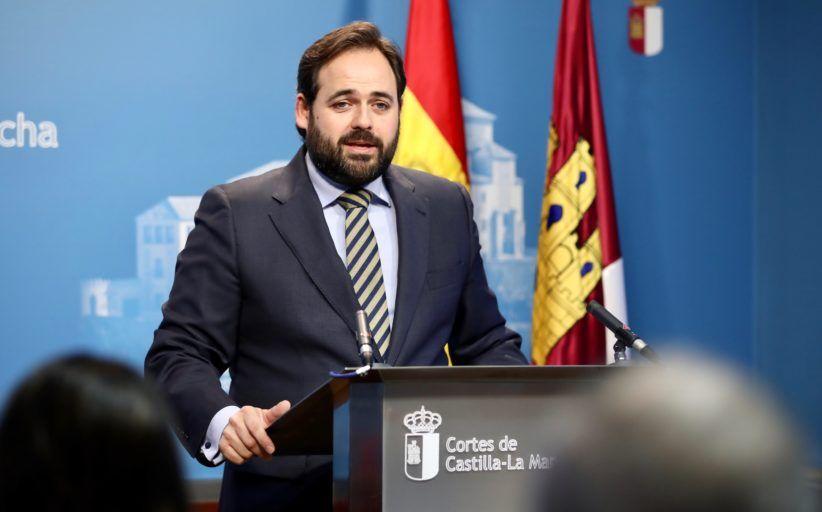Núñez solicita la comparecencia de Page en las Cortes regionales para que explique su gestión de la crisis del COVID-19