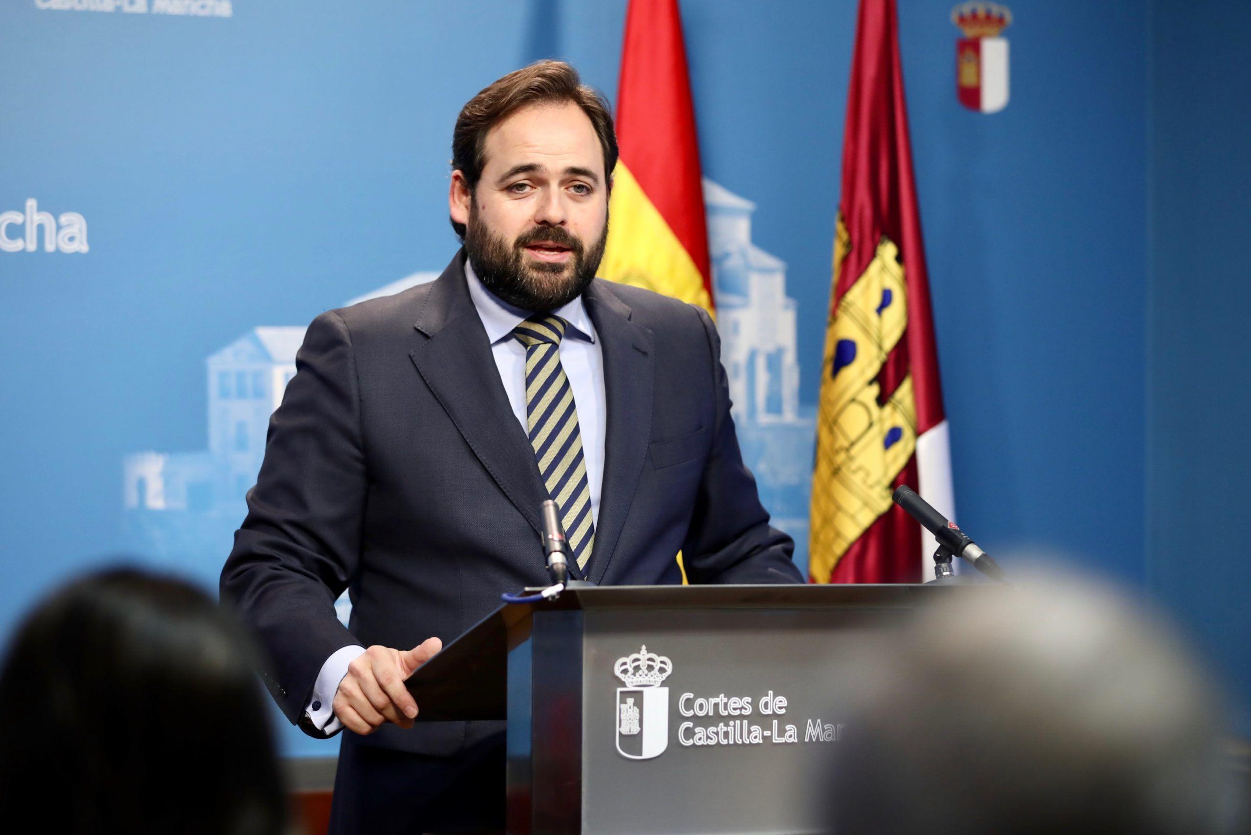 Núñez pide a Page que solicite ayuda al Ejército para que colabore con el personal de las residencias de mayores a sacar adelante la gestión de la pandemia