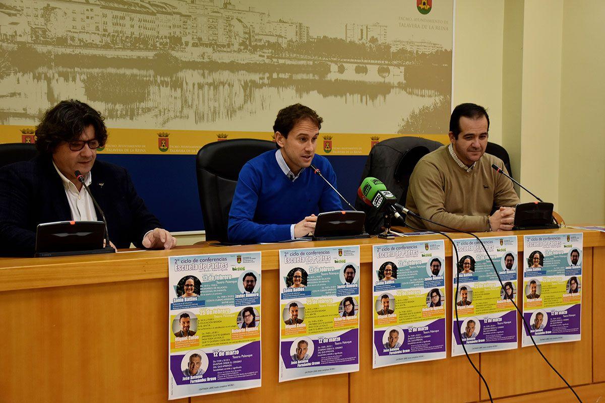 La segunda edición del Ciclo de Conferencias Educativas 'Escuela de Padres' regresa a Talavera con cinco conferencias entre los meses de febrero y marzo