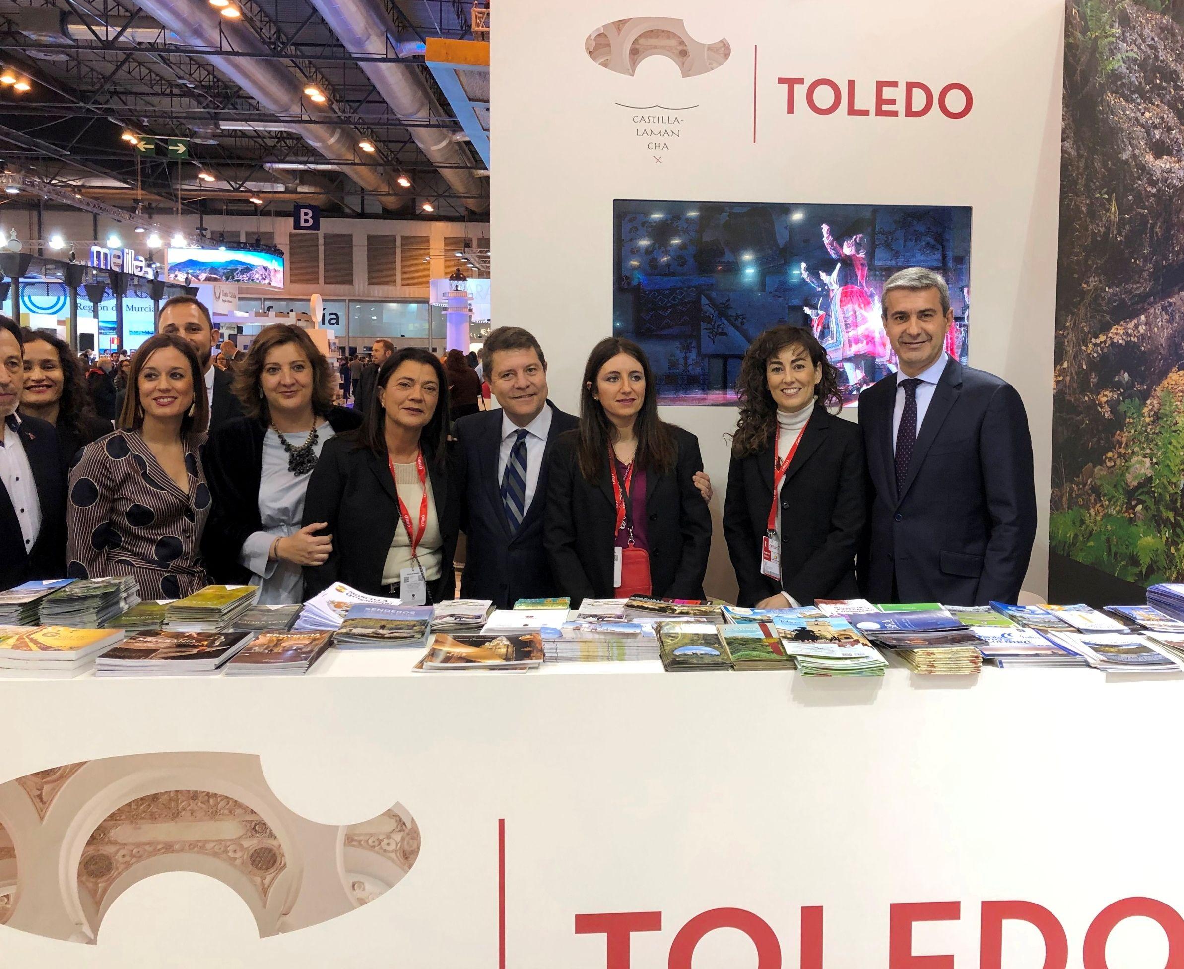El Gobierno de la Diputación facilita la presencia de los municipios toledanos en FITUR 2020