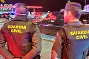 La Guardia Civil detiene a tres personas por robo en Azuqueca de Henares